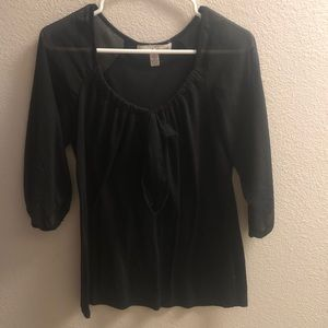 French Laundry Mid Length Sleeve Blouse